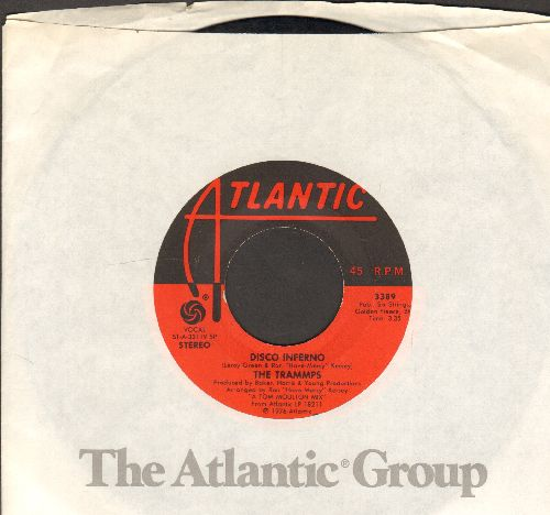 Trammps - Disco Inferno/That's Where The Happy People Go (with juke box label) - VG7/ - 45 rpm Records