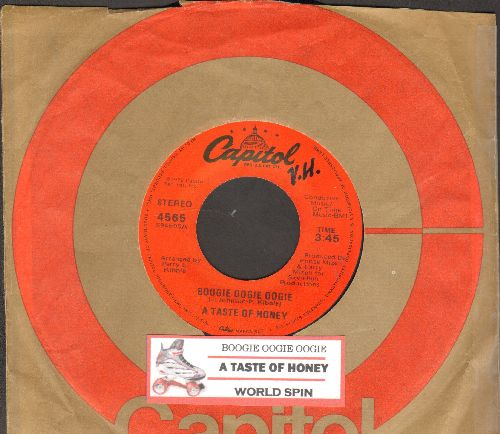 Taste Of Honey - Boogie Oogie Oogie/World Spin (with juke box label and Capitol company sleeve) - EX8/ - 45 rpm Records