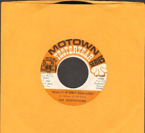 Temptations - Beauty Is Only Skin Deep/(I Know) I'm Losing You (double-hit re-issue) - NM9/ - 45 rpm Records