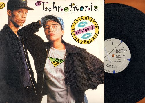 Technotronic - This Beat Is Technotronic (6 different Dance Club tracks on 12 inch vinyl Maxi Single with picture cover) - NM9/NM9 - Maxi Singles