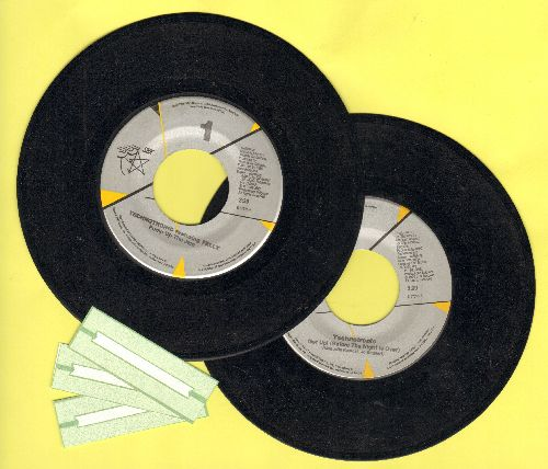 Technotronic - 2 for 1 Special: Pump Up The Jam/Get Up! (Before The Night Is Over)(2 vintage first issue 45rpm records  for the price of 1!) - EX8/ - 45 rpm Records