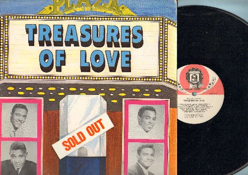 McPhatter, Clyde, Chuck Jackson, Gene Chandler, Jimmy Jones - Treasures Of Love: Lover Please, Good Timin', Rainbow, Any Day Now, Duke Of Earl (vinyl LP record, re-issue of vintage recordings) - NM9/NM9 - LP Records