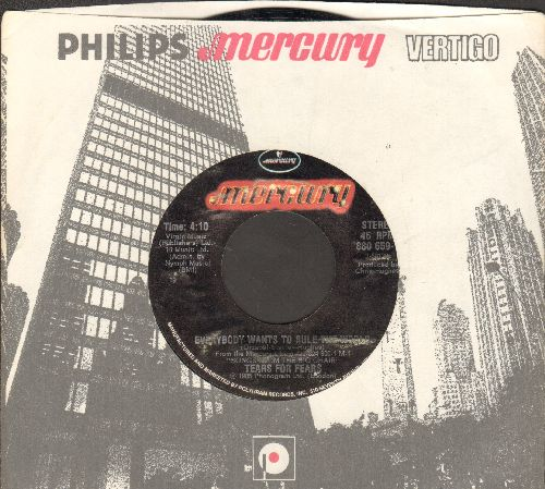 Tears For Fears - Everybody Wants To Rule The World/Pharaohs (with company sleeve) - NM9/ - 45 rpm Records