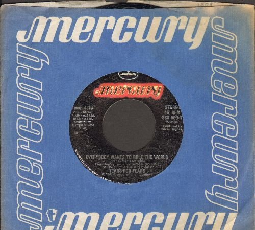Tears For Fears - Everyody Wants To Rule The World/Pharaohs (with Mercury company sleeve) - NM9/ - 45 rpm Records
