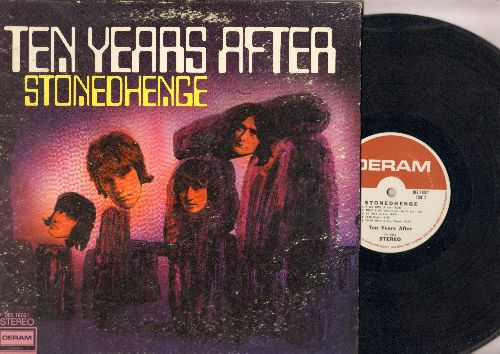 Ten Years After - Stonehenge: Going To Try, Woman Trouble, Three Blind Mice, Speed Kills (vinyl STEREO LP record, gate-fold cover) - VG7/VG6 - LP Records