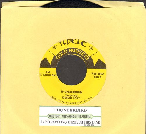 Terry, Dossie - Thunderbird/I Am Traveling Through This Land (by The Ambassadors Of Philadelphia (re-issue with juke box label) - NM9/ - 45 rpm Records