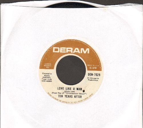 Ten Years Laters - Love Like A Man/If You Should Love Me (bb) - EX8/ - 45 rpm Records