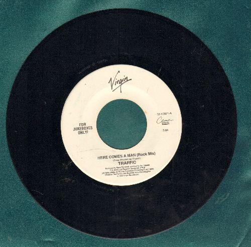 Traffic - Here's A Man (Rock Mix)/Glad (LIVE) (DJ Pressing) - NM9/ - 45 rpm Records