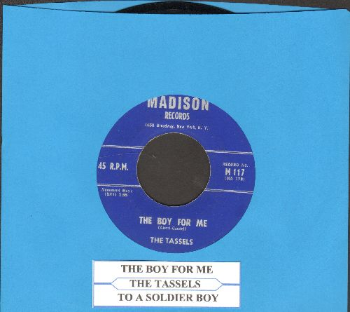 Tassles - The Boy For Me/To A Soldier Boy - NM9/ - 45 rpm Records
