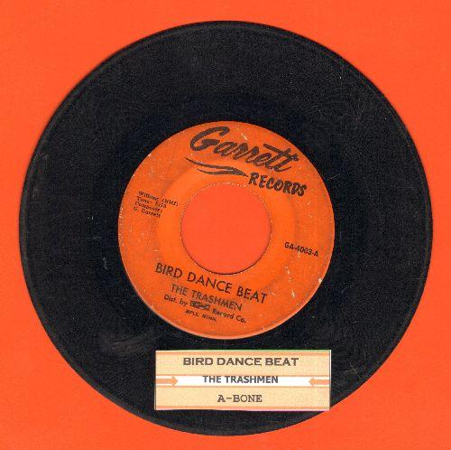 Trashmen - Bird Dance Beat/A-Bone (with juke box label)(bb) - VG6/ - 45 rpm Records
