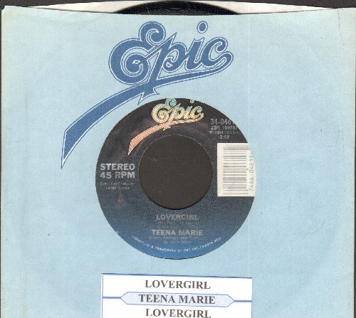 Teena Marie - Lovergirl/Lovergirl (Instrumental) (with juke box label and company sleeve) - NM9/ - 45 rpm Records