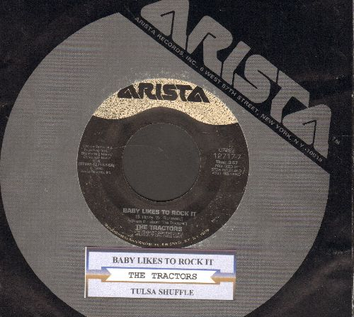 Tractors - Baby Likes To Rock It/Tulsa Shuffle (with juke box label and company sleeve) - VG7/ - 45 rpm Records