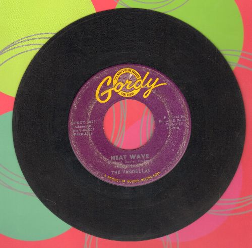 Martha & The Vandellas - Heat Wave/A Love Like Yours  - VG7/ - 45 rpm Records