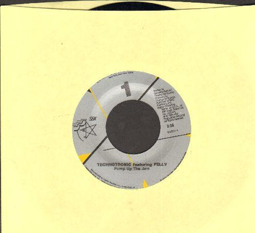 Technotronic - Pump Up The Jam/Pump Up The Jam (instrumental)  - NM9/ - 45 rpm Records