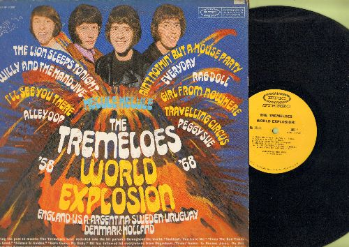 Tremeloes - World Explosion: Peggy Sue, Everyday, Rag Doll, Alley Oop, Willy & The Hand Jive (vinyl STEREO LP record) - NM9/VG7 - LP Records