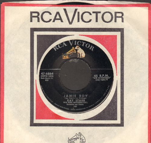Starr, Kay - Jamie Boy/A Little Loneliness (with RCA company sleeve) - EX8/ - 45 rpm Records