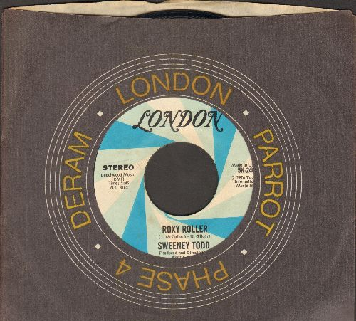 Todd, Sweeney - Roxy Roller/Rue De Chance (with London company sleeve) - EX8/ - 45 rpm Records