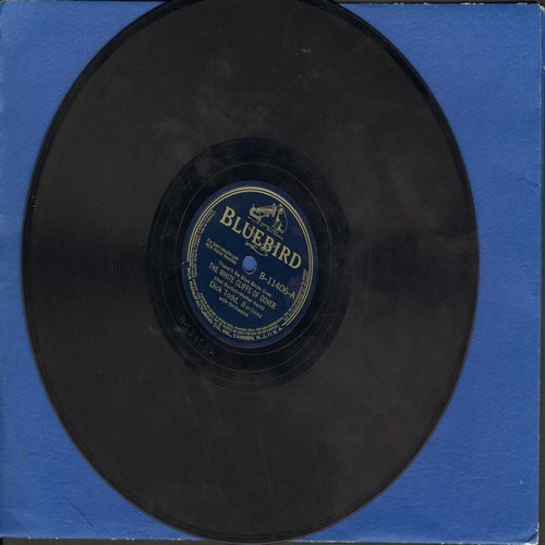 Todd, Dick - The White Cliffs Of Dover/How About You? (10 inch 78 rpm record) - VG6/ - 78 rpm