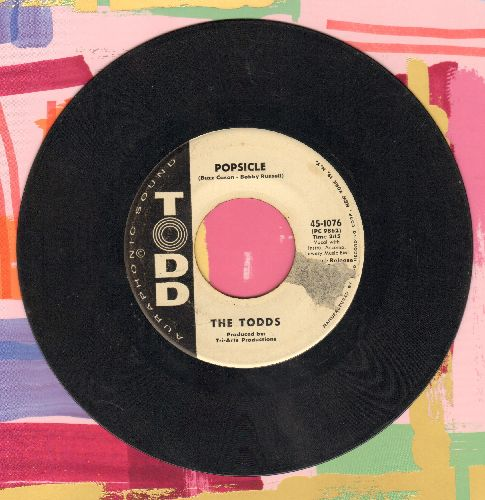 Todds - Popsicle/Sugar Hill (DJ advance pressing) - VG7/ - 45 rpm Records