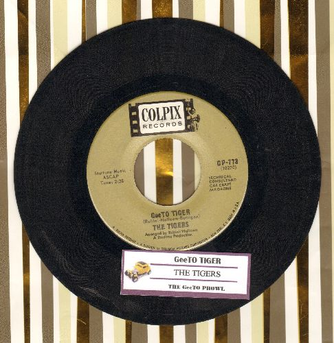 Tigers - GeeTo Tiger/The GeeTo Prowl (with juke box label) - VG7/ - 45 rpm Records