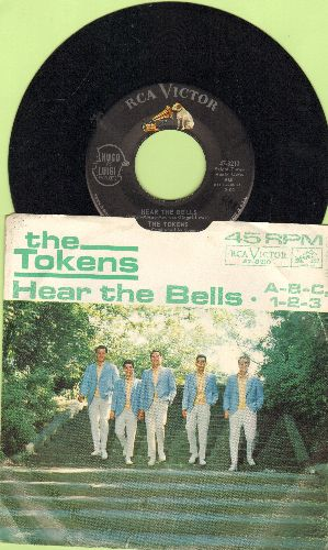 Tokens - Dream Angel Goodnight/I'll Do My Crying Tomorrow (with RCA company sleeve) - NM9/VG7 - 45 rpm Records
