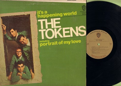 Tokens - It's A Happening World: Portrait Of My Love, Wimoweh 5 1/2 Years Later, For All That I Am, The Purpose Of A Circus (Vinyl MONO LP record) - NM9/VG7 - LP Records