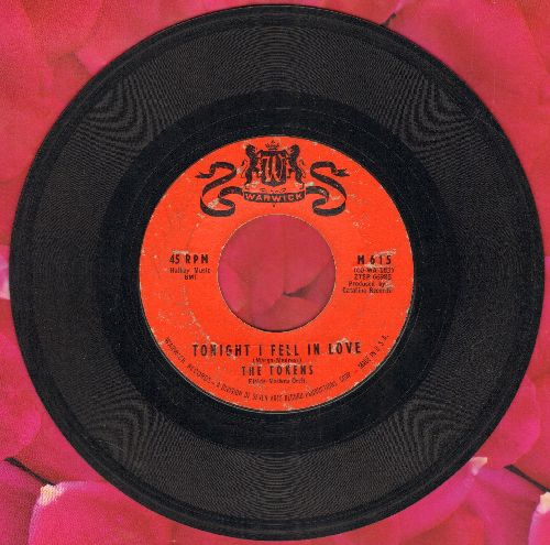 Tokens - Tonight I Fell In Love/I'll Always Love You - EX8/ - 45 rpm Records