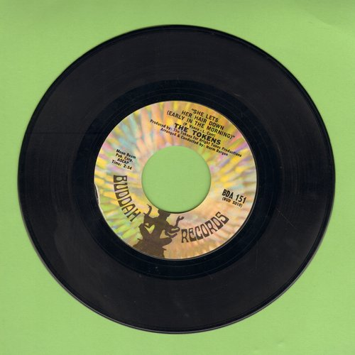 Tokens - She Let's Her Hair Down (Early In The Morning)/Oh To Get Away - EX8/ - 45 rpm Records