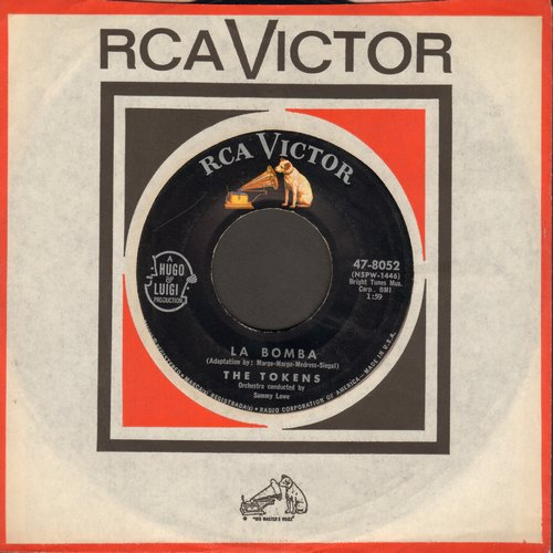 Tokens - La Bomba/A Token Of Love  - EX8/ - 45 rpm Records