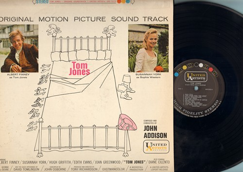 Addison, John - Tom Jones - Original Motion Picture Sound Track (Vinyl STEREO LP record) - NM9/VG6 - LP Records