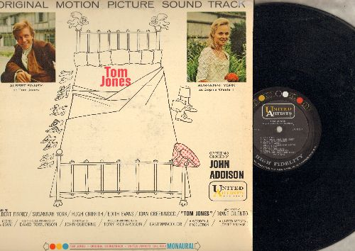 Addison, John - Tom Jones - Original Motion Picture Sound Track (Vinyl MONO LP record) - NM9/EX8 - LP Records
