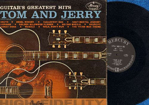Tom & Jerry - Guitar's Greatest Hits: The Third Man Theme, Walk Don't Run, Caravan, Rebel Rouser, Raunchy, Guitar Boogie (Vinyl MONO LP record) - EX8/EX8 - LP Records