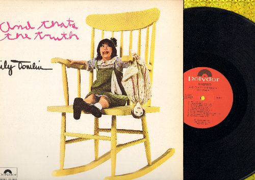 Tomlin, Lily - And That's The Truth… - Laugh along with the irrepressible Edith Ann, age 5 1/2, as she tells it like it is! One of Lily Tomlin's best-loved original characters! (Vinyl STEREO LP record) - NM9/NM9 - LP Records