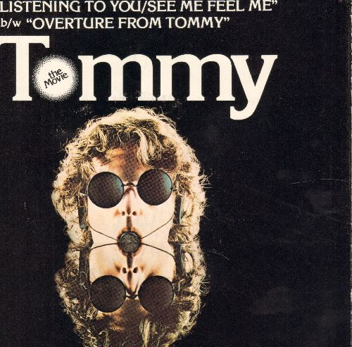 Who - See Me, Feel Me/Overture From Tommy (with picture sleeve) - EX8/EX8 - 45 rpm Records