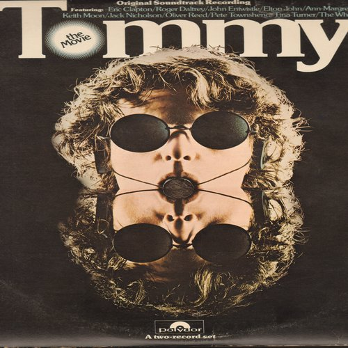 Tommy - Tommy - The Movie: Original Motion Picture Sound Track including performances by The Who, Ann-Margret, Elton John, Eric Clapton, Tina Turner and others - 2 vinyl STEREO LP record set, gate-fold cover. - VG7/VG7 - LP Records