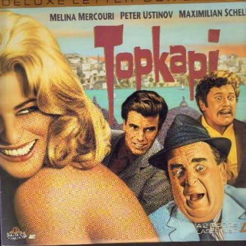 Topkapi - Topkapi - The 1964 International Comedy Classic starring Melina Mercouri, Maximilian Schell and Oscar Winner Peter Ustinov - This is a set of 2 LASERDISCS, NOT ANY OTHER KIND OF MEDIA! - NM9/NM9 - LaserDiscs