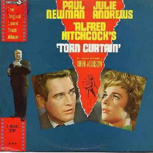 Addison, John - Alfred Hitchcock's -Torn Curtain- Original Motion Picture Sound Track composed and conducted by John Addison (Vinyl MONO LP record, DJ advance copy) - NM9/EX8 - LP Records