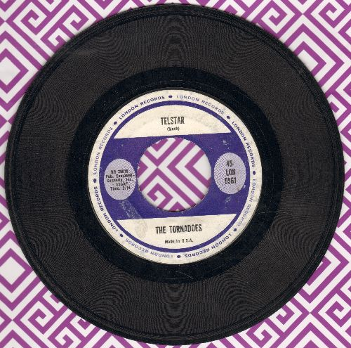 Tornadoes - Telstar/Jungle Fever  - VG7/ - 45 rpm Records
