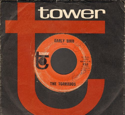 Tornados - Early Bird/Stompin' Through The Rye (with RARE Tower company sleeve) (wol) - VG7/ - 45 rpm Records