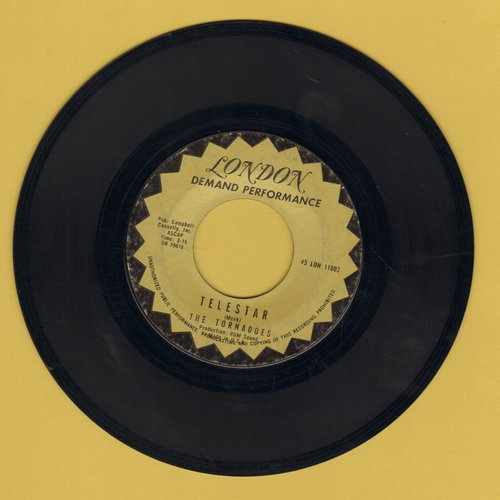 Tornadoes - Telstar/Jungle Fever (early re-issue) - EX8/ - 45 rpm Records