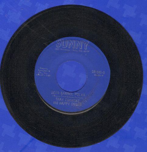 Torrent, Shay His Happy Organ - Beer Barrell Polka (Vintage Nichelodeon Sound)/Blue Skirt Waltz - EX8/ - 45 rpm Records