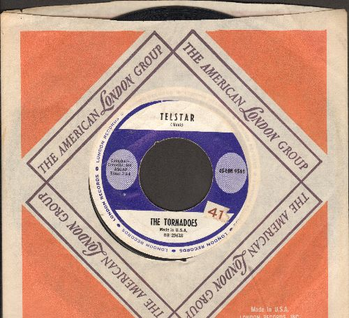 Tornadoes - Telstar/Jungle Fever (with London company sleeve) - EX8/ - 45 rpm Records