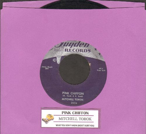 Torok, Mitchell - Pink Chiffon/What You Don't Know (with juke box label) - EX8/ - 45 rpm Records