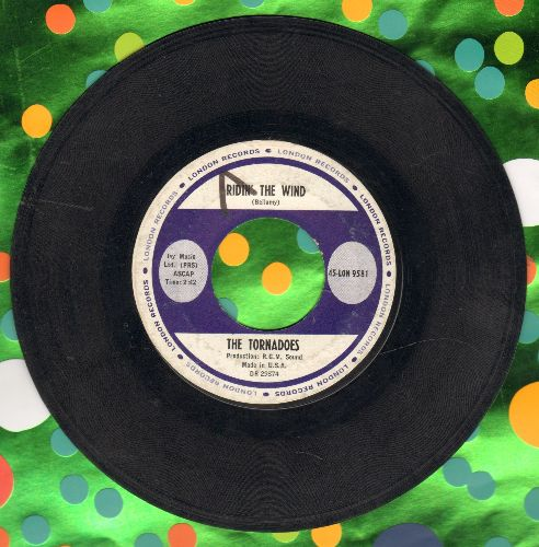 Tornadoes - Ridin' The Wind/The Breeze And I (minor wol) - VG7/ - 45 rpm Records