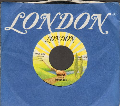 Tornadoes - Telstar/Jungle Fever (re-issue with company sleeve) - NM9/ - 45 rpm Records