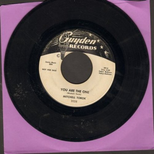 Torok, Mitchell - You Are The One/Mexican Joe (DJ advance pressing) - VG7/ - 45 rpm Records
