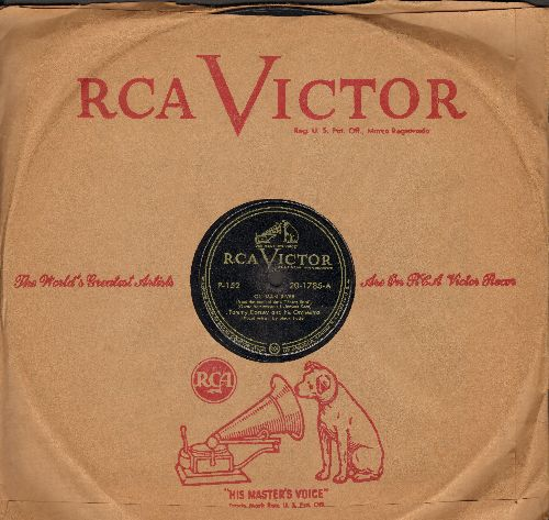 Foster, Stuart with Tommy Dorsey & Orchestra - Ol' Man River/Bill (by Peggy Mann on flip-side) (10 inch 78 rpm record with RCA company sleeve) - EX8/ - 78 rpm