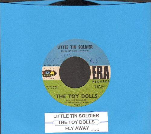 Toy Dolls - Little Tin Soldier/Fly Away (with juke box label) - EX8/ - 45 rpm Records