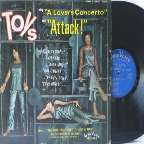 Toys - Attack!: A Lover's Concerto, Can't Get Enough Of You Baby, Back Street, Yesterday, I Got A Man (Vinyl STEREO LP record) - VG7/VG7 - LP Records