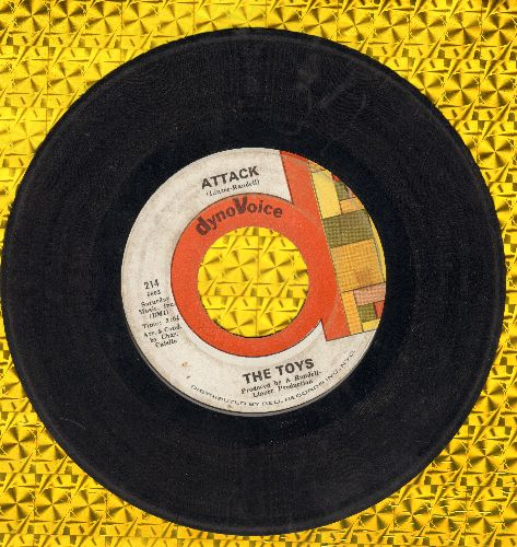 Toys - Attack/See How They Run - VG7/ - 45 rpm Records